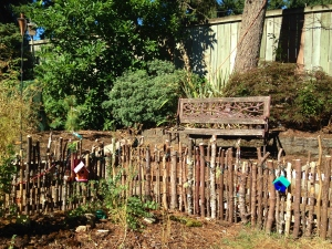 Fairy Fence & Bench